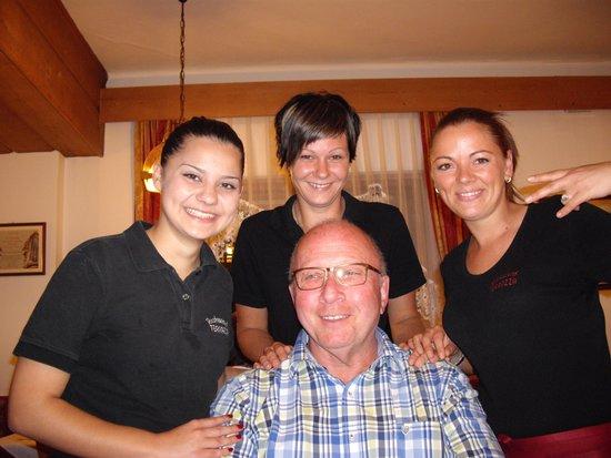 Peter mit der Chefin Carolina - Picture of Ristorante Pizzeria ...
