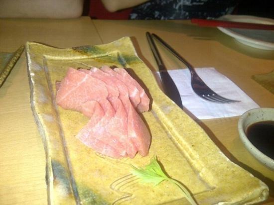 Koy Shunka: sashimi de toro