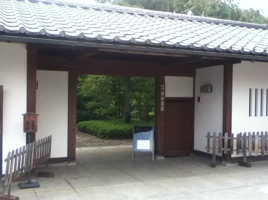 Mejiro Garden: 入口付近