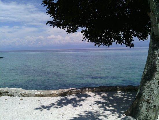 Moalboal T Breeze Coastal Resort: la vue