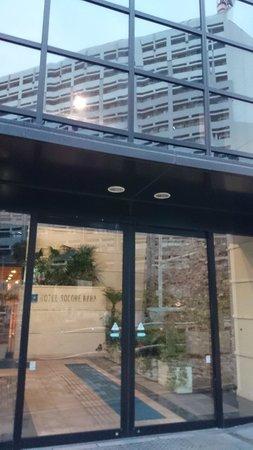 Hotel Rocore Naha: ホテルの正面