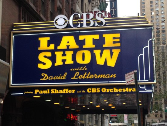 The Late Show with David Letterman : Late show