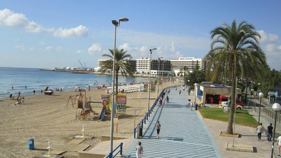 Hotel Maya Alicante Esplanade Along The Beach Postiguet