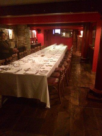 Bleeding Heart Restaurant: Wine Cellar