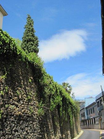 Muralla de Oviedo: Vista de la muralla