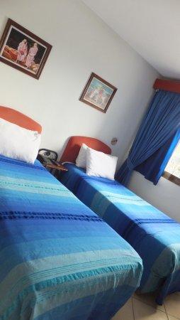 Hotel Parador - Chefchaouen : ホテル部屋内