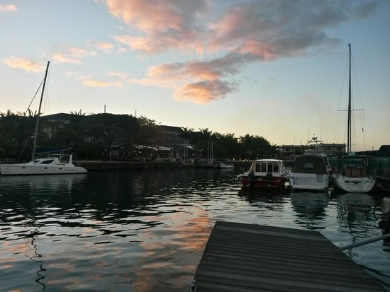 Le Suffren Hotel & Marina: from the water taxi