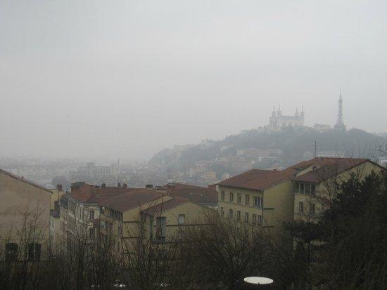 Montee De La Grande Cote : Vistas del Lyon desde la parte alta
