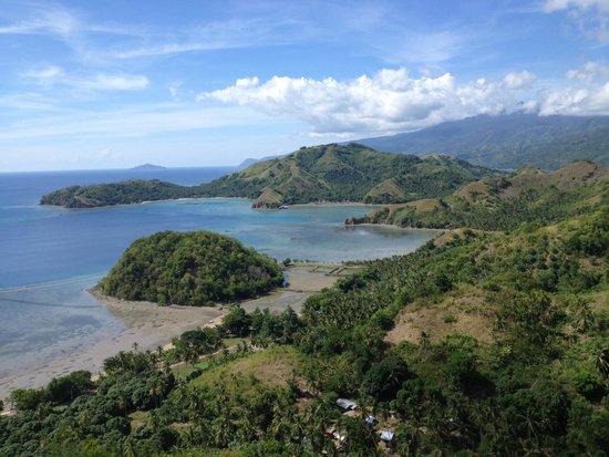 Mati, الفلبين: Sleeping Dinosaur Island