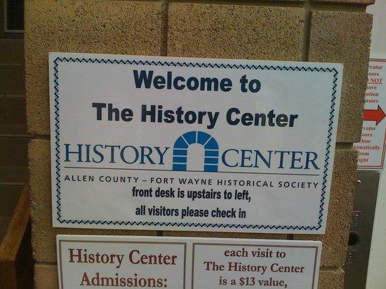 History Center: .