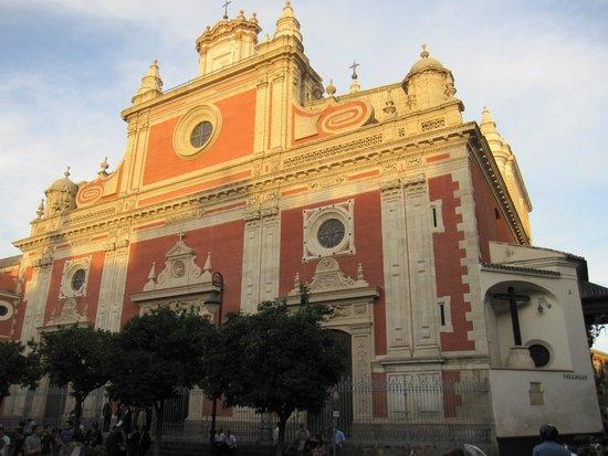 Iglesia Colegial del Salvador: Vista exterior