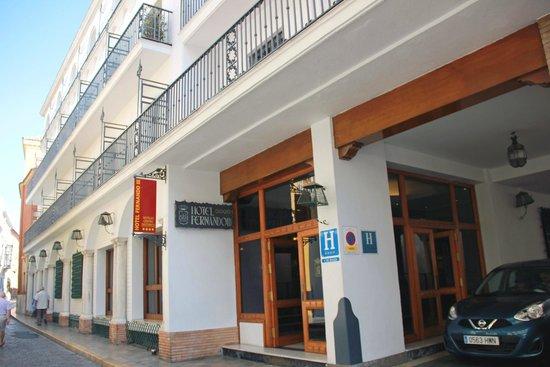Hotel Fernando III: L'entrée