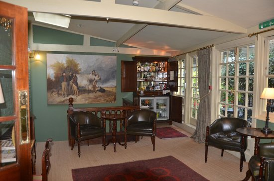 The Rookery Hotel: Lounge Bar area