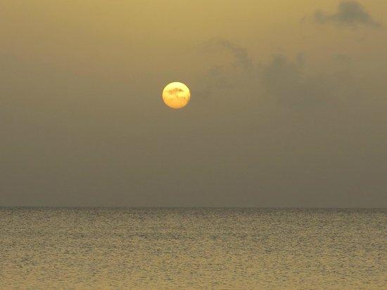 Guadeloupe National Park : coucher de soleil