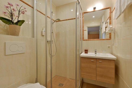 Hotel Waldfriede: Bad vom Einzelzimmer