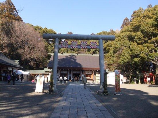 Tokiwa Shrine: 常盤神社
