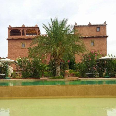 Kasbah Ouzoud Hotel : Pool
