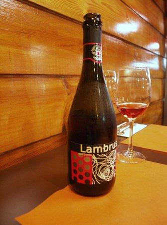 Pizzeria Toscana: Lambrusco