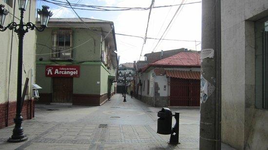 Qelqatani Hotel: la rue Lima à 100m