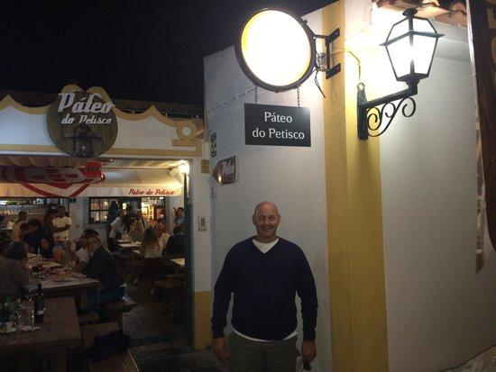 Pateo Do Petisco: Beautiful evening!