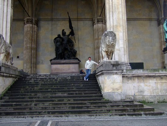 Odeonsplatz: Odeonsplats - Munique - Alemanha