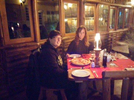 Queens Wood Cottage : Warm dinner