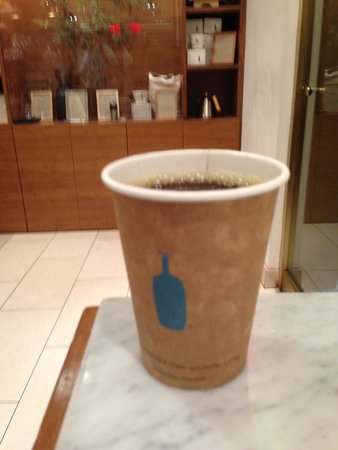 Photo of Coffee Shop Blue Bottle Coffee at 1 Rockefeller Plz, New York, NY 10020, United States