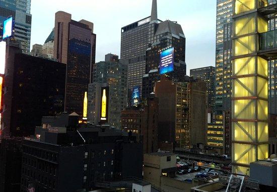 Haven Rooftop NYC: Вид из ресторана