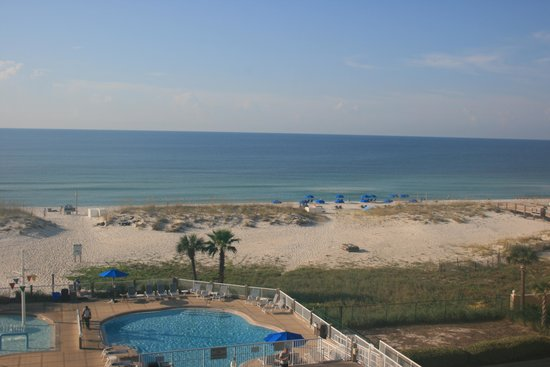 SpringHill Suites Pensacola Beach: View from our balcony