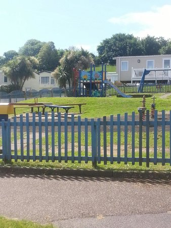 South Bay Holiday Park: The toddler play area