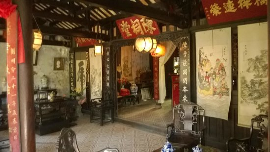 The Tran Family Home and Chapel : The front room of the house
