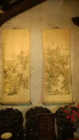 The Tran Family Home and Chapel: Some nice old artwork on the walls