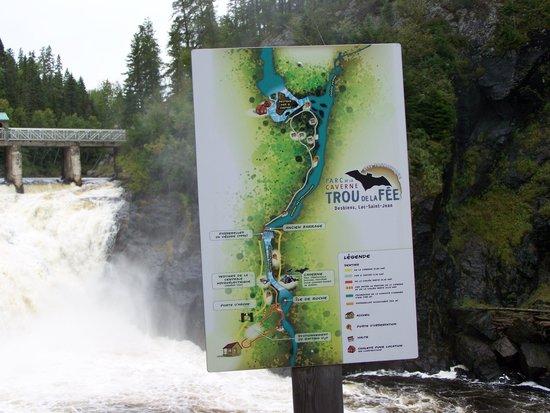 Desbiens, Kanada: Trou de la Fée, Lac St-Jean, Québec, Canada