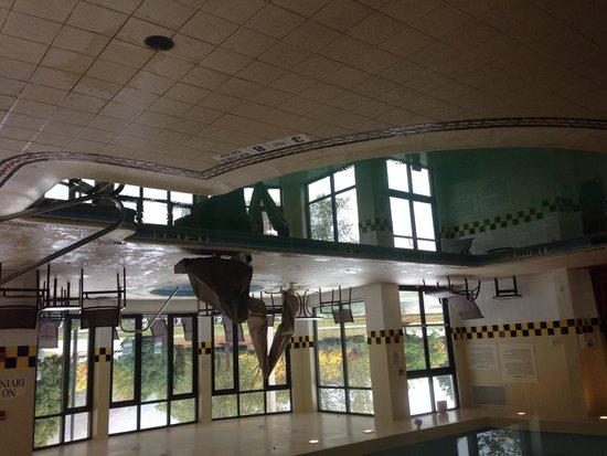 Hilton Garden Inn Poughkeepsie/Fishkill : Pool with hot tub