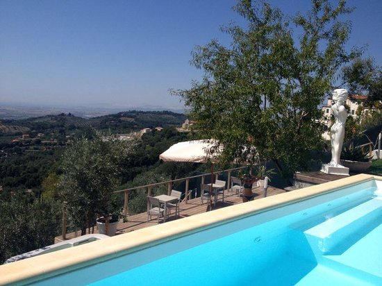 Sestosenso Suites: View from pool