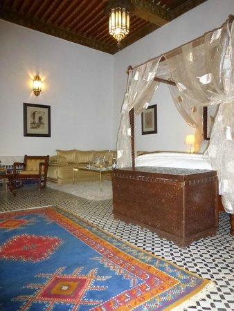 Riad Maison Bleue: Stunning Suite