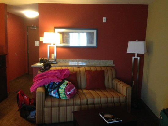 Comfort Suites Gallup: Coin salon