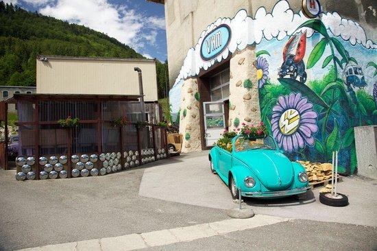 Saint Sulpice, Suisse : L'entrée du musée