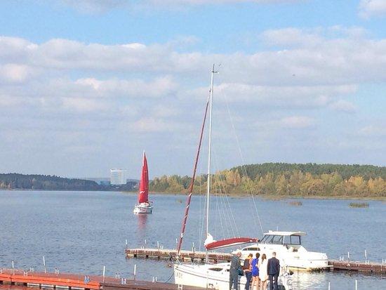 Minsk Sea: Алые паруса на Минском море