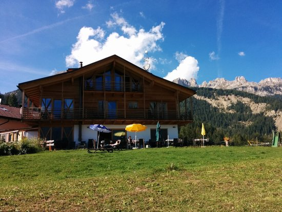 Agritur Weiss: Terrasse