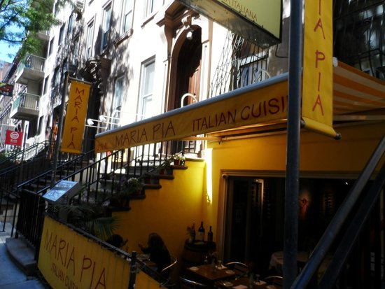 Maria Pia : Outside on 51st Street