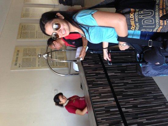 Losari Hotel & Villas: Check in counter