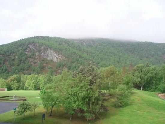 Macdonald Morlich Hotel at Macdonald Aviemore Resort: View from the room