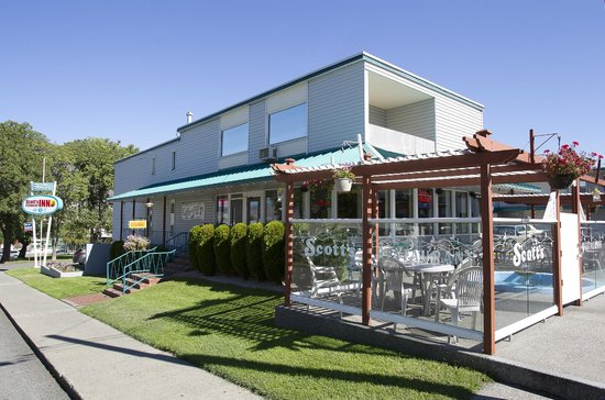 Scott's Inn & Restaurant in Kamloops: Licensed Restaurant & Patio