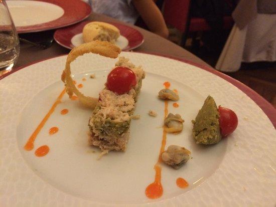 Logis La Breche: Vorspeise, köstlich
