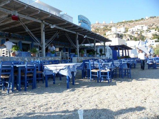 Apotolis Taverna Psaropoula: Psaropoula Restaurant, Pantelli Beach