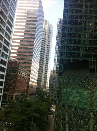 Eurostars Wall Street: vista dalla camera