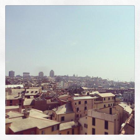 Comfort Hotel Europa Genova City Centre: Вид с крыши отеля