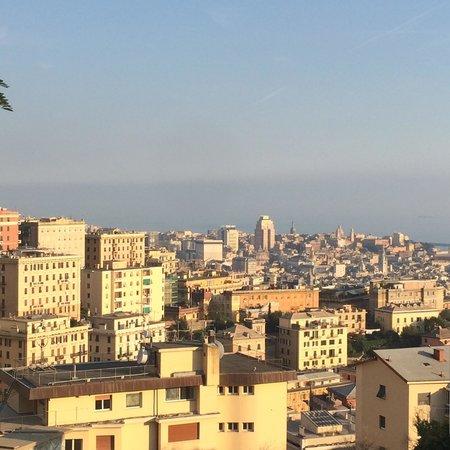 Comfort Hotel Europa Genova City Centre: Вид с крыши