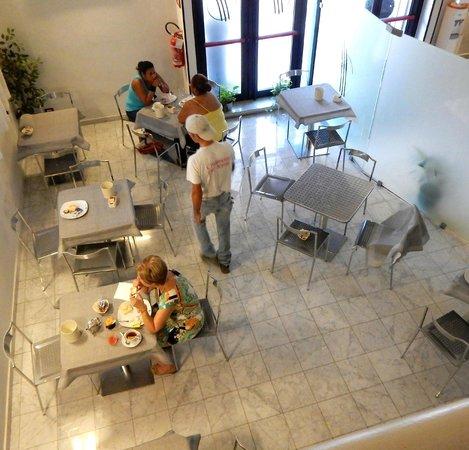 Hotel La Torre: the breakfast lounge